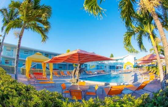 Welcome To St Pete Beach Suites - Poolside Cabanas