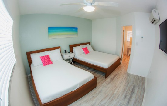 1 Bedroom Partial Ocean Suite 2 Doubles